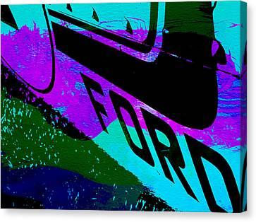 Ford Racing  Canvas Print by Naxart Studio