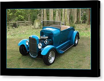 Canvas Print featuring the photograph Ford Roadster by Keith Hawley