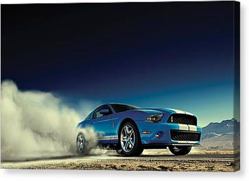 Ford Shelby G T 500 Canvas Print