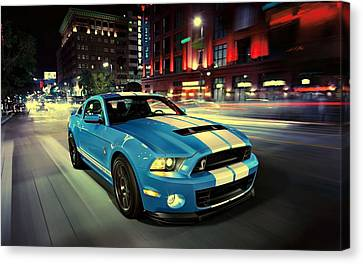 Ford Shelby Gt500 2014 Canvas Print by Movie Poster Prints