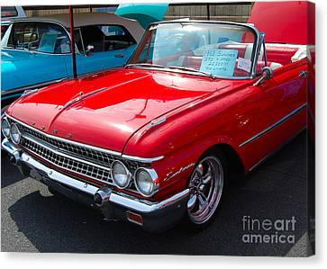 Ford Sunliner Canvas Print