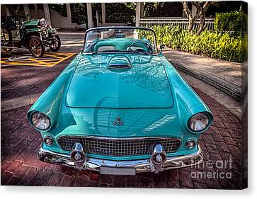 Window Canvas Print - Ford Thunderbird  by Adrian Evans