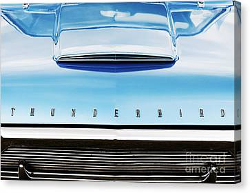 Ford Thunderbird Canvas Print by Tim Gainey