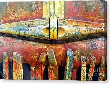 Ford Tough Canvas Print by Lauren Leigh Hunter Fine Art Photography