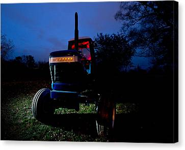 Ford Tractor Canvas Print