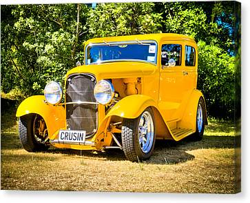 Ford Tudor Hot Rod Canvas Print by motography aka Phil Clark