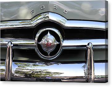 Ford V8 1949 - Vintage Canvas Print