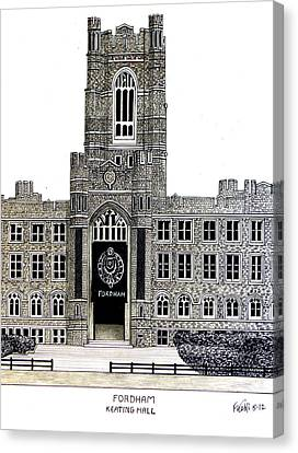 Fordham Canvas Print by Frederic Kohli
