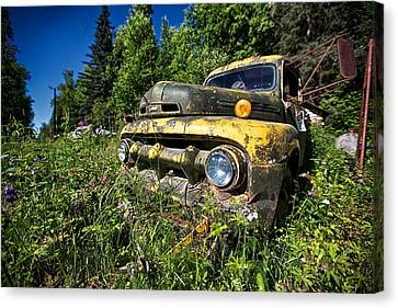 Fords View Canvas Print by Ed Boudreau