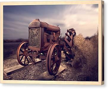 Fordson F Tractor Canvas Print by Yo Pedro