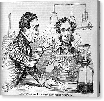 Forensic Toxicologists Canvas Print by National Library Of Medicine