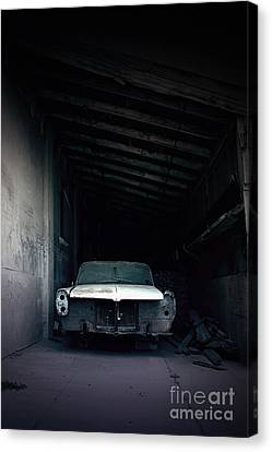 Horror Car Canvas Print - Foresaken by Trish Mistric
