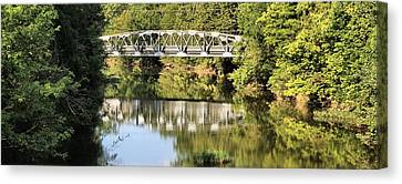 Forest Bridge Canvas Print by Dan Sproul