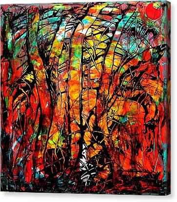 Forest Canvas Print by Carolyn Repka