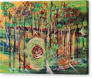 Canvas Print - Forest Energy  by AR Annahita