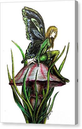Forest Faery Canvas Print by Lorah Buchanan