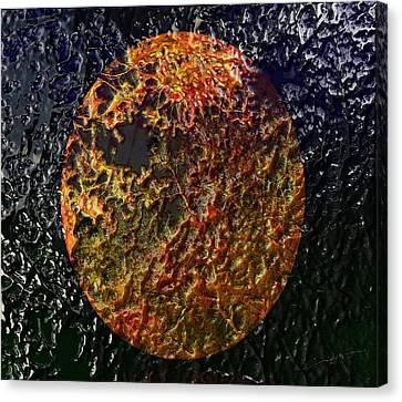 Forest Fireball Canvas Print