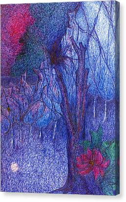 Forest Flower Canvas Print