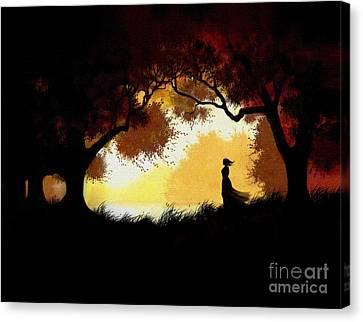 Forest Glen Canvas Print by Robert Foster