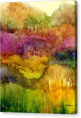 Forest Canvas Print by Hailey E Herrera