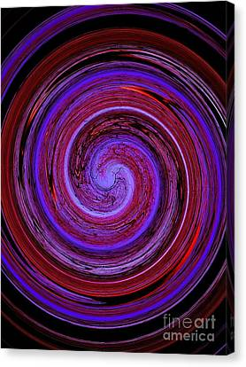 Forest In Spirale Canvas Print