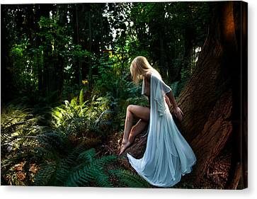 Forest Nymph 2 Canvas Print by Dario Infini