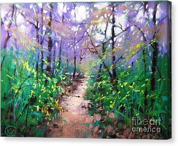 Forest Of Summer Canvas Print