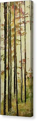 Forest Quilt Canvas Print by Sandrine Pelissier