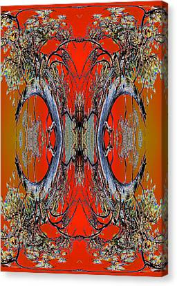 Order From Disorder Canvas Print - Forest Ritual 2013 by James Warren