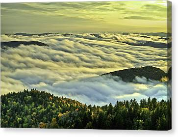 Canvas Print featuring the photograph Forever Dream by Serge Skiba