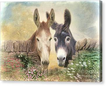 Forever Friends Canvas Print by Trudi Simmonds