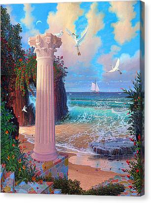 Forever Morning The Dream Awake Canvas Print by Loren Adams