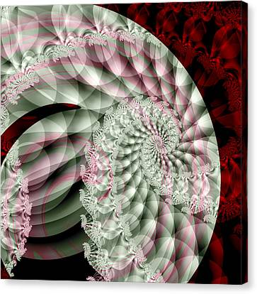 Forever Spiral Canvas Print