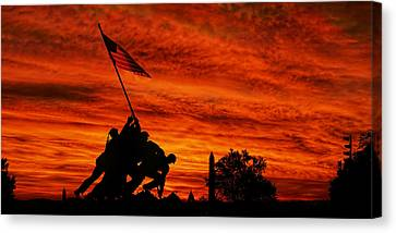 Forged In Fire Canvas Print