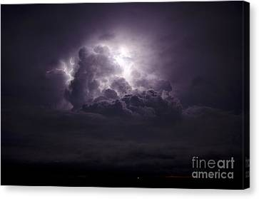 Forging The Heavens Canvas Print