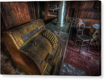 Forgotten Bar Canvas Print by Nathan Wright
