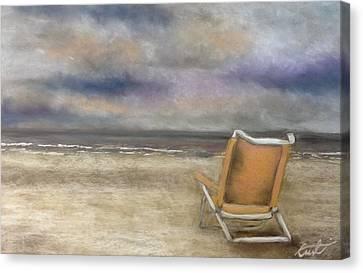 Forgotten Chair Canvas Print