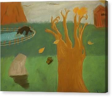 Forgotten Child Hood Canvas Print by Joshua Massenburg