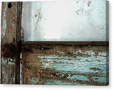 Forgotten Door Canvas Print