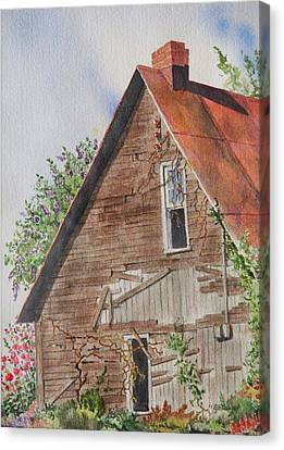 Forgotten Dreams Of Old Canvas Print by Mary Ellen Mueller Legault