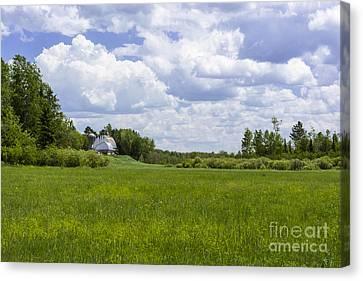 Forgotten Farm Canvas Print by Dan Hefle