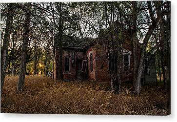 Abandoned Farm House Canvas Print - Forgotten IIi by Aaron J Groen