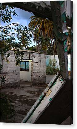 Canvas Print featuring the photograph Forgotten by Kandy Hurley