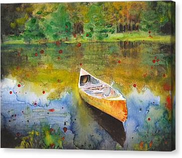 Forgotten Memories Canvas Print by Susan Powell
