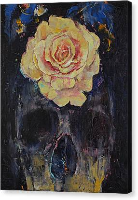 Goth Canvas Print - Forgotten by Michael Creese