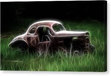 Forgotten Racer Canvas Print
