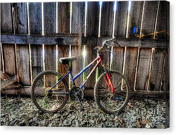 Forgotten Replaced By New Set Of Wheels Canvas Print by Dan Friend