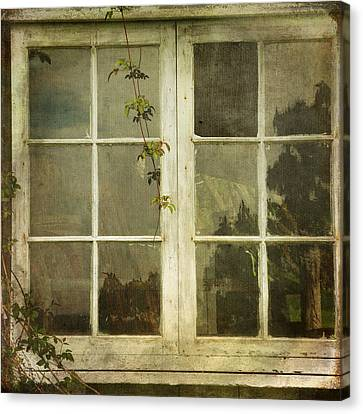 Canvas Print featuring the photograph Forgotten by Sally Banfill