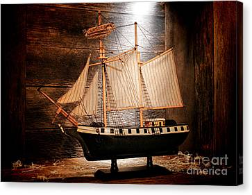 Forgotten Toy Canvas Print by Olivier Le Queinec