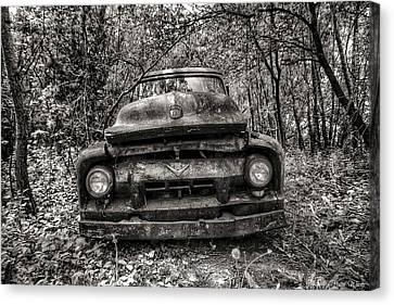 Forgotten Truck Canvas Print